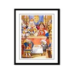 TRIAL OF THE KNAVE OF HEARTS Framed Panel Print