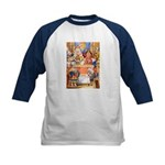 TRIAL OF THE KNAVE OF HEARTS Kids Baseball Jersey