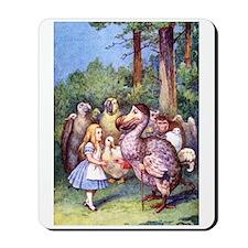ALICE & THE DODO BIRD Mousepad