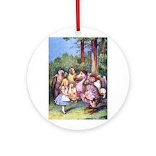 ALICE & THE DODO BIRD Ornament (Round)