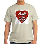 """Anti-VD"" Ash Grey T-Shirt"