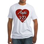 """""""Anti-VD"""" Fitted T-Shirt"""