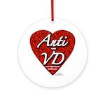 """""""Anti-VD"""" Ornament (Round)"""