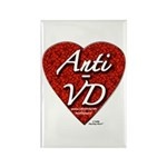 """""""Anti-VD"""" Rectangle Magnet (100 pack)"""