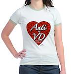 """Anti-VD"" Jr. Ringer T-Shirt"