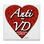 """Anti-VD"" Tile Coaster"