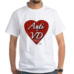 """Anti-VD"" White T-Shirt"