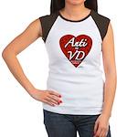 """Anti-VD"" Women's Cap Sleeve T-Shirt"