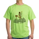Wall street Green T-Shirt