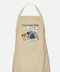 Caveman Census Taker Apron