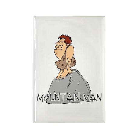 Mountain Man Rectangle Magnet