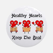 Healthy Hearts Ornament (Round)