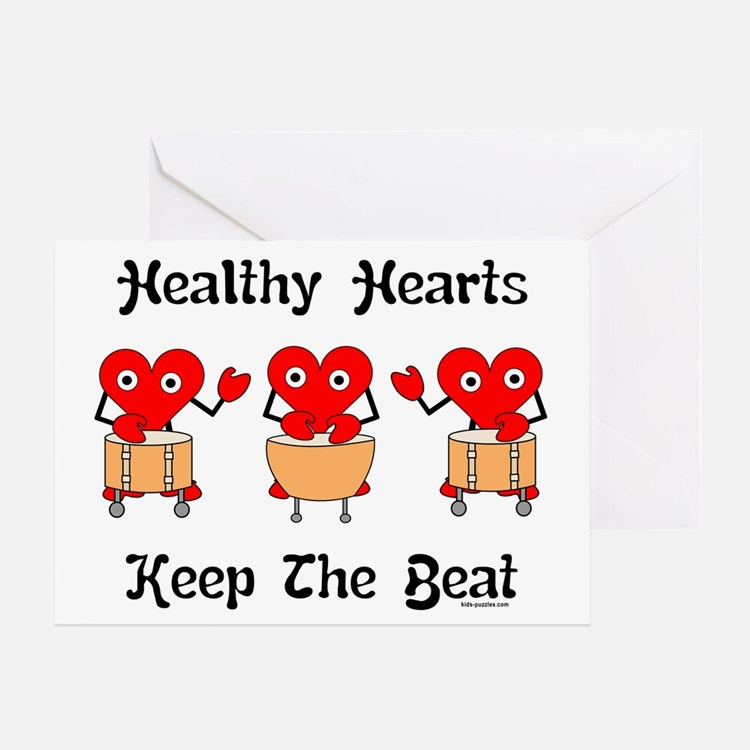 Healthy Hearts Greeting Card