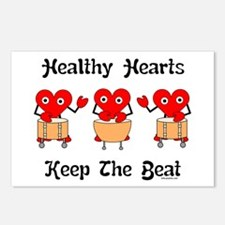 Healthy Hearts Postcards (Package of 8)