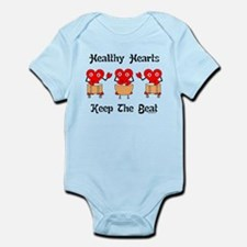 Healthy Hearts Infant Bodysuit
