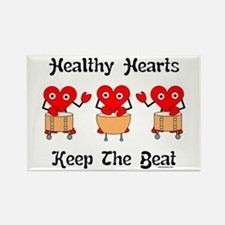 Healthy Hearts Rectangle Magnet