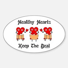 Healthy Hearts Decal