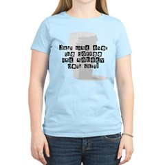 Just Give Me The Coffee Women's Light T-Shirt