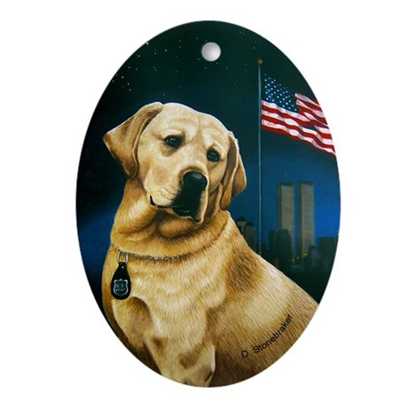 Salute to Sirius Ornament (Oval)