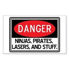 Pirates, Lasers, Ninjas, and Bumper Stickers