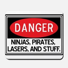 Pirates, Lasers, Ninjas, and Mousepad