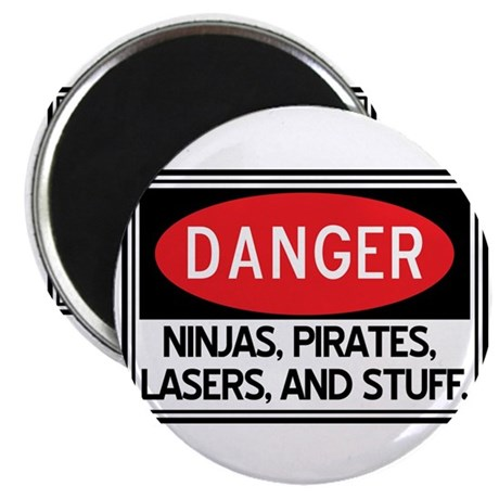 Pirates, Lasers, Ninjas, and Magnet