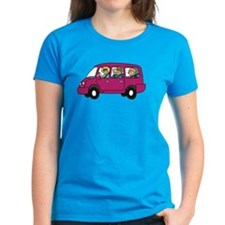 Carpool Women's Dark T-Shirt
