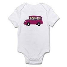Carpool Infant Bodysuit