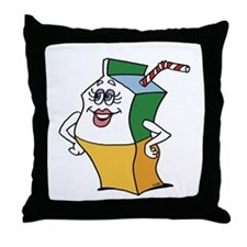Dolly Carton Throw Pillow