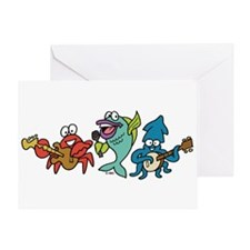 Fish Band Greeting Card