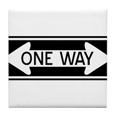 One Way Tile Coaster