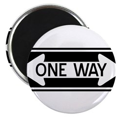 One Way Magnet