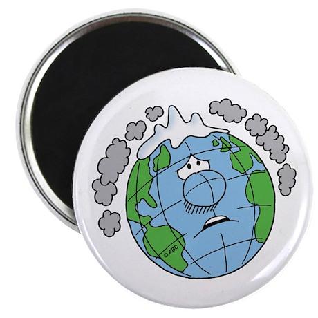 Earth Blues Magnet