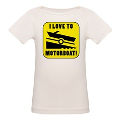 I Love To Motorboat! Tee