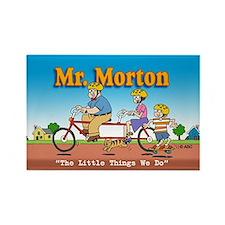 Mr. Morton Rectangle Magnet
