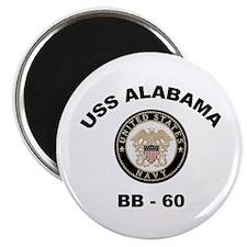 USS Alabama BB 60 Magnet