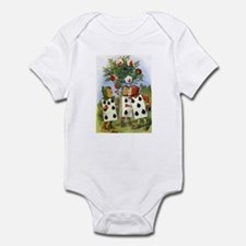 PAINTING THE QUEEN'S ROSES Infant Bodysuit