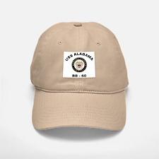 USS Alabama BB 60 Baseball Baseball Cap