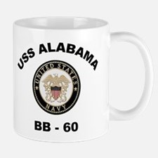 USS Alabama BB 60 Mug