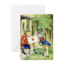 A ROYAL INVITATION Greeting Card