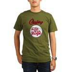 Things Go Better With Rope Organic Men's T-Shirt (