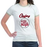 Things Go Better With Rope Jr. Ringer T-Shirt