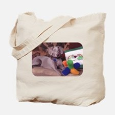 Sedona Weimaraner 8 Tote Bag