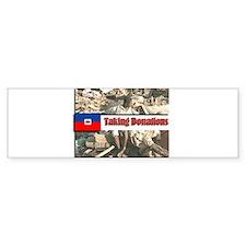 Haiti Donations Car Sticker