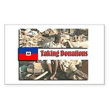 Haiti Donations Decal
