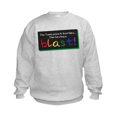 Terrible Twos Kids Sweatshirt