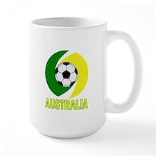 Australia soccer design 2014 Mug