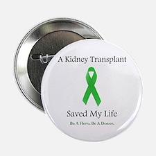 Kidney Transplant Survivor Button