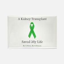 Kidney Transplant Survivor Rectangle Magnet