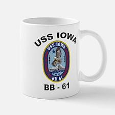 USS Iowa 61 Mug